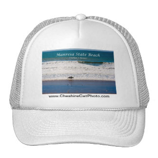 Manresa State Beach Surfers California Products Mesh Hat