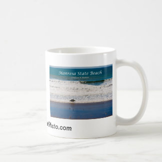 Manresa State Beach Surfers California Products Mug