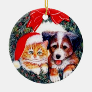 Man's Best Friend Christmas Ornament