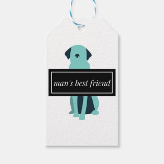 Man's Best Friend Dog Gift Tags