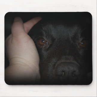 Mans Best Friend Dog Mousepad
