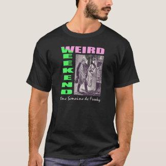 Man's Black Loplop Weird Weekend T-shirt