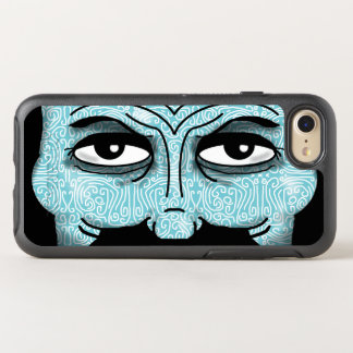 MAN'S EYES PATTERNED by Slipperywindow OtterBox Symmetry iPhone 8/7 Case