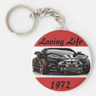 Man's Loving Life Birth Year Key Chain