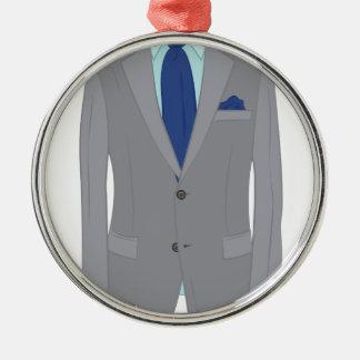 Mans Suit Christmas Ornament