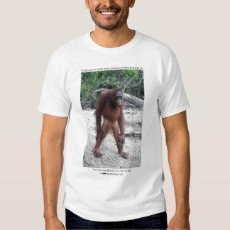 Manscaping orangutan t shirts