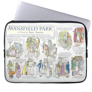 Mansfield park laptop sleeve