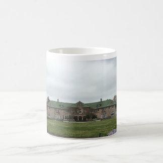 Mansion cup basic white mug