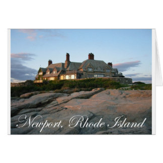 Mansion in Newport Greeting Card