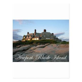 Mansion in Newport Postcard