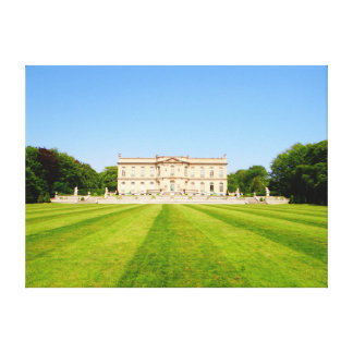 Mansion Lawn Stretched Canvas Prints