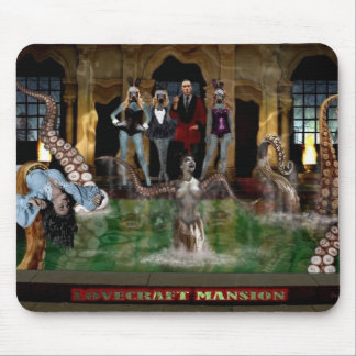 MANSION LOVECRAFT MOUSE PAD