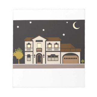 Mansion Night Notepad