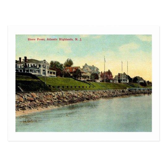 Mansions, Highlands, New Jersey 1910 Vintage Postcard