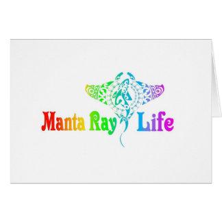 Manta Ray Life Card
