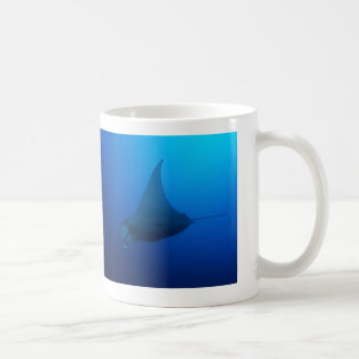 Manta Ray on the Great Barrier Reef Coffee Mug