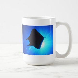 Manta Ray Silhouette Coffee Mug