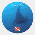 Manta Ray Sticker Adesivo