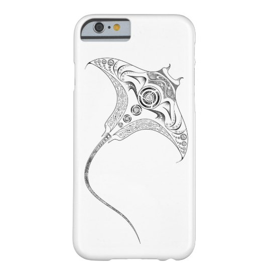 Manta Ray Tribal Dotwork iPhone 6/6s Case