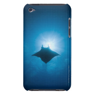 Manta swimming underwater barely there iPod covers