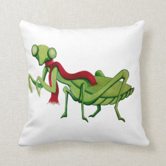 Mantis Manny and Mama Hen pillow Cushions