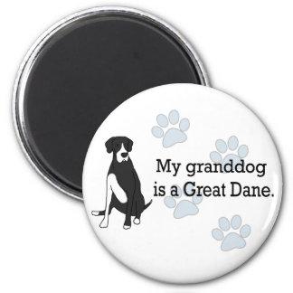 Mantle Great Dane Granddog Magnet