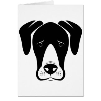 Mantle Great Danes Greeting Card