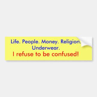 mantra bumper sticker