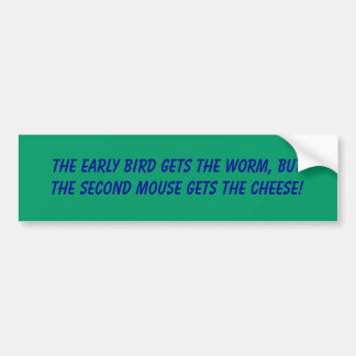 Mantra Bumper Sticker
