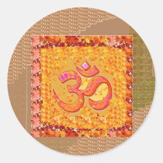 MANTRA OmMANTRA Yoga Chant Meditation GIFTS ALL Sticker
