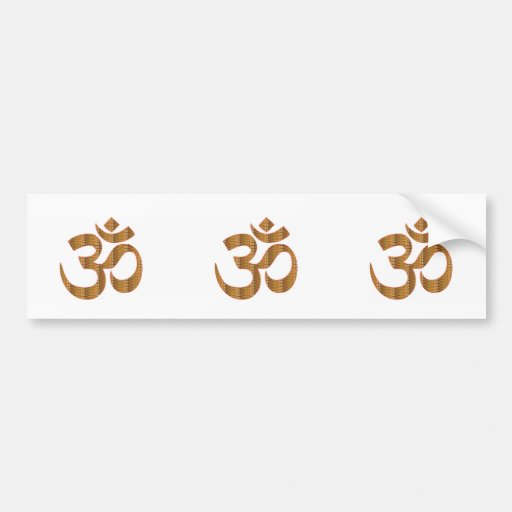 MANTRA OmMantra Yoga Meditation Chant Hinduism gif Bumper Stickers