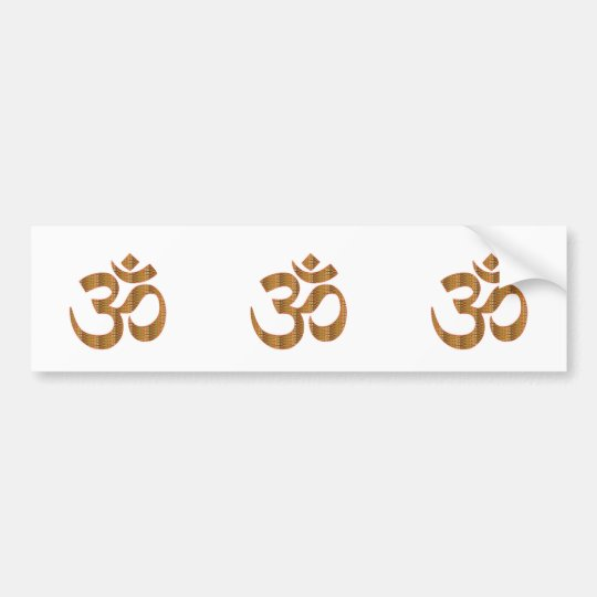 MANTRA OmMantra Yoga Meditation Chant Hinduism gif Bumper Sticker