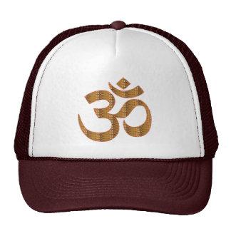 MANTRA OmMantra Yoga Meditation Chant Hinduism gif Mesh Hat