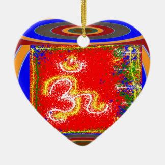 MANTRA Shakti: Passion Dedication Power Peace Christmas Ornament