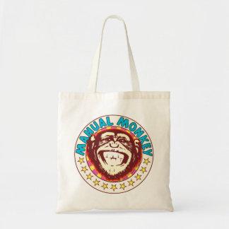 Manual Monkey Budget Tote Bag
