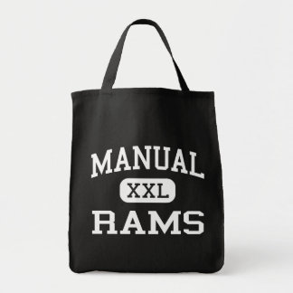 Manual - Rams - High School - Peoria Illinois Canvas Bags
