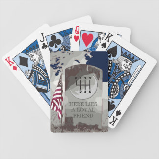 MANUAL Tombstone Bicycle Playing Cards