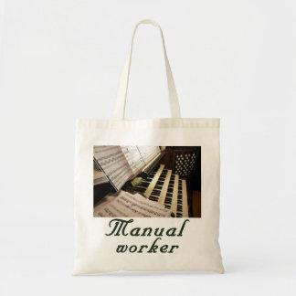 Manual Worker budget tote Budget Tote Bag