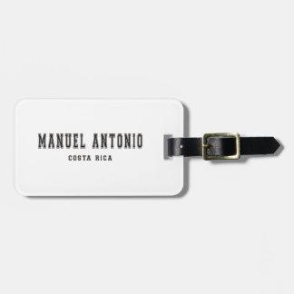 Manuel Antonio Costa Rica Bag Tag