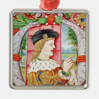 Manuel I  'The Fortunate', King of Portugal Christmas Tree Ornament