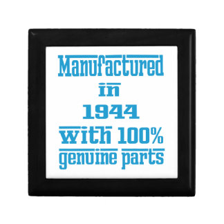 Manufactured in 1944 with 100% genuine parts keepsake boxes