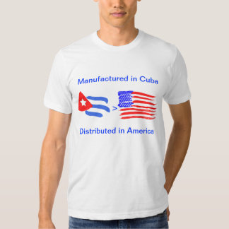 Manufactured in Cuba T Shirt