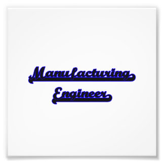 Manufacturing Engineer Classic Job Design Photo