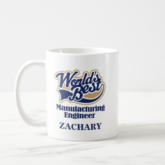 Manufacturing Engineer Personalised Mug Gift