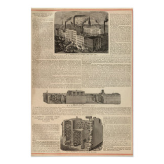 Manufacturing, Warehouses Poster