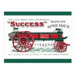 Manure Spreader Machine Post Cards