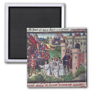 Manuscript by Jean Vauquelin Magnet