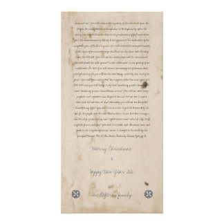 Manuscript Picture Card