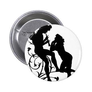 ManWoman1 6 Cm Round Badge