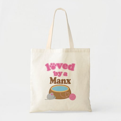 Manx Cat Breed Loved By A Gift Tote Bag